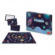 Hravý Vesmír pre malé dobrodruhov stolová spoločenská hra v krabici 33x23x4cm 6+
