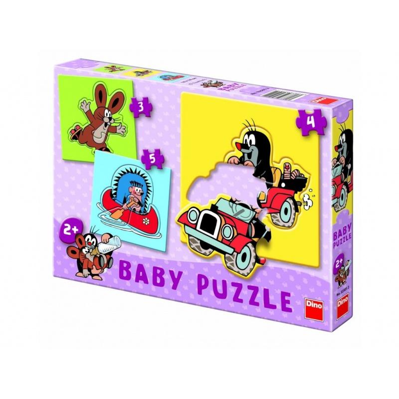Dino baby puzzle Krteček 2+
