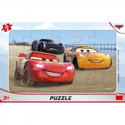 CARS ZÁVODÍ 15 deskové Puzzle