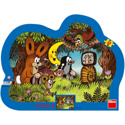 Puzzle 25 Krecik i Przyjaciele DINO