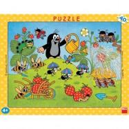 Puzzle 40 Krecik w truskawkach DINO