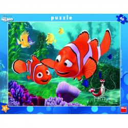 Puzzle 40 Ramkowe Nemo DINO