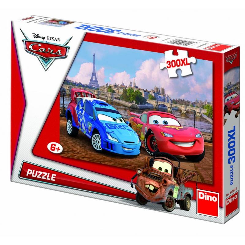 WD Cars v Paříži 300DXL puzzle