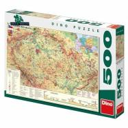 Mapa české republiky 500D