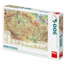 Mapa českej republiky 500D
