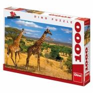 Dvě žirafy 1000D