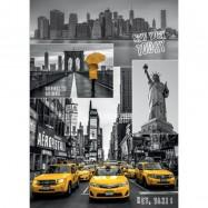 New York - koláž 1000D