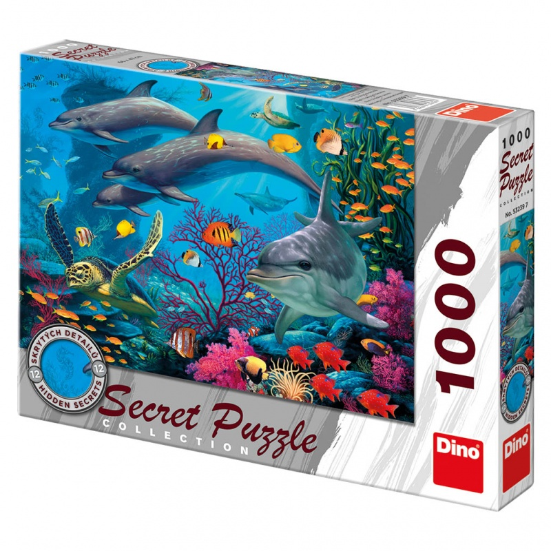 Mořský svět 1000D secret collection