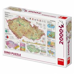 Mapy české republiky 2000D