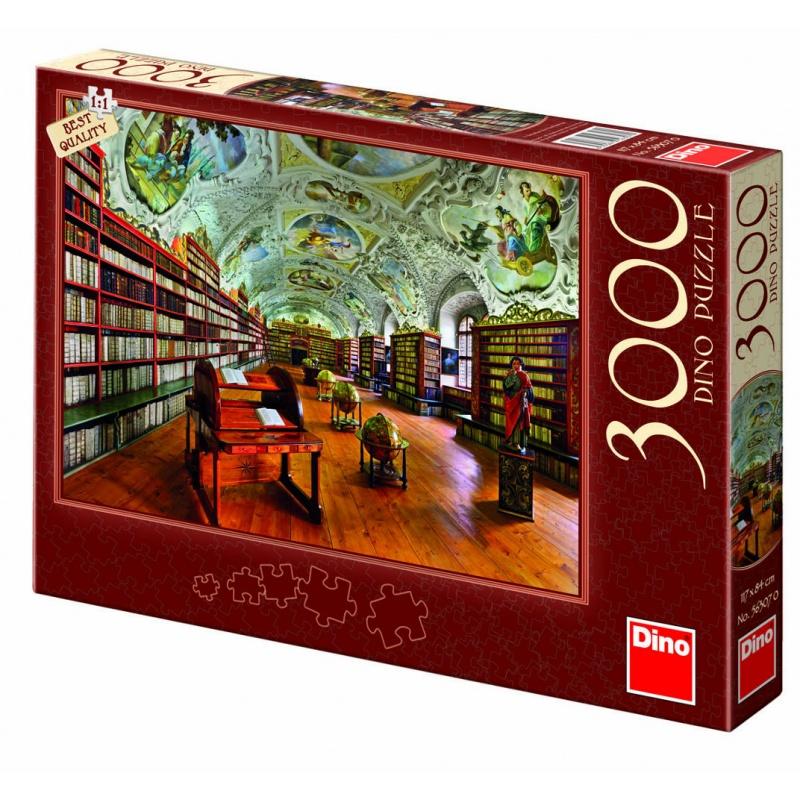 Strahovská knihovna 3000D