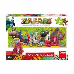 Puzzle 150 dílků Zafari - přátelství