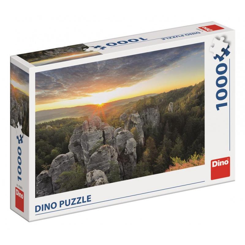 Dino Puzzle Skaliste ściany 1000 sztuk