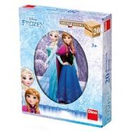 Drevené kocky - Frozen 20 ks