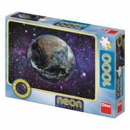 Neon Dino Puzzle Planet Earth 1000 sztuk