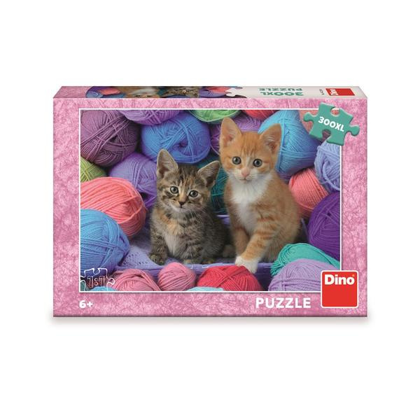 Dino Puzzle Kocięta w fali 300 sztuk XL