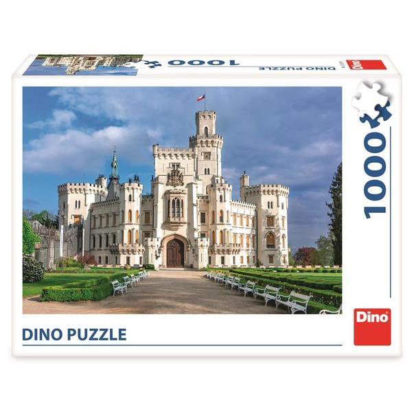 Dino Puzzle Zámok Hluboká 1000 dielikov