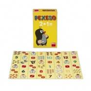 Dětské hry - Pexeso Počty s krtečkem