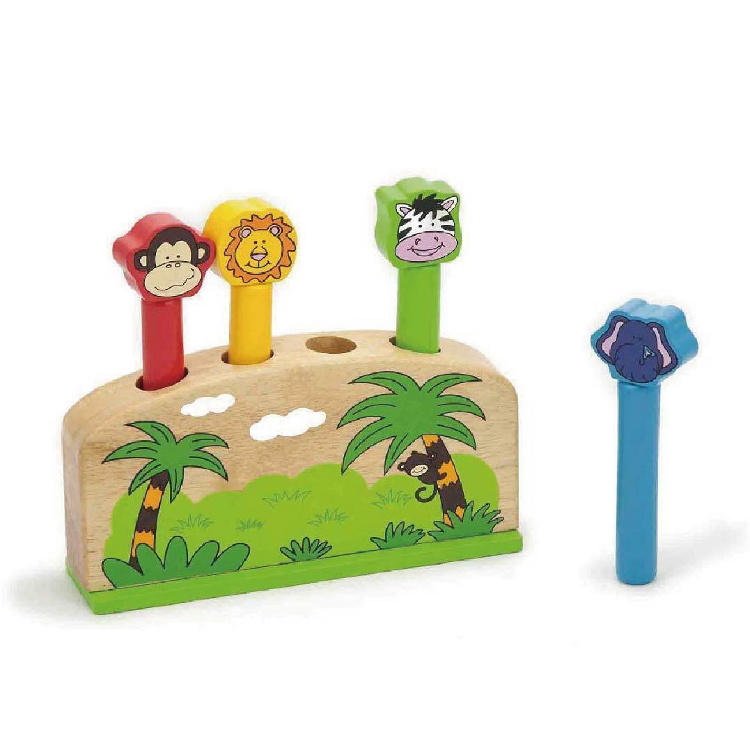 Dřevěná hra - zvířátka