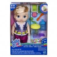 Baby Alive Blonďatý chlapec s mixérem