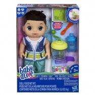 Baby Alive Tmavovlasý chlapec s mixérem