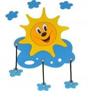 Lampka ścienna dla dzieci - Słoneczko
