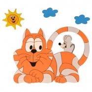 Dětská lampička - Kočka