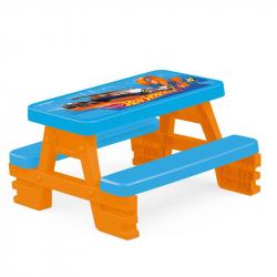 Piknikový stôl pre 4 Hot Wheels