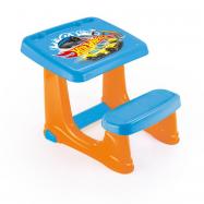 Dětský stolek s lavicí Hot Wheels