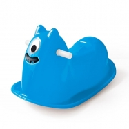 Houpačka příšerka modrá