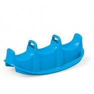 Trzyosobowy plastik dla dzieci w kolorze niebieskim