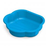 Pískoviště plastová mušle modrá