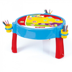 Hrací stolek 2v1 s kostkami 100ks