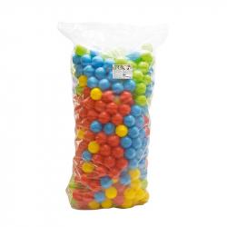 500 farebných plastových loptičiek - 9cm