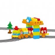 Dětská vlaková souprava, 58 ks