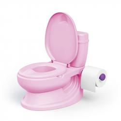 Dětská toaleta, růžová