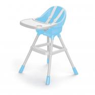 Dětská jídelní židlička modrá