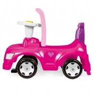 Odrážedlo auto růžové 2 v 1