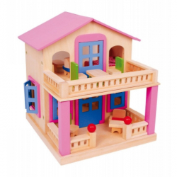 Drevený domček Clara