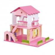 Dřevěný domeček Pink