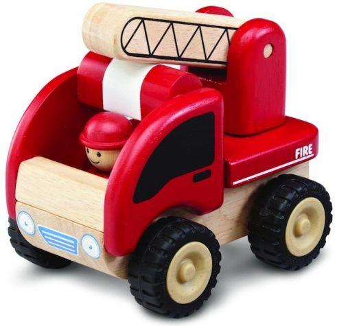 Dřevěné auto Mini hasiči