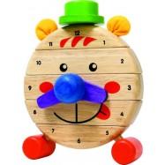 Dřevěné hodiny Pan Tik Tak
