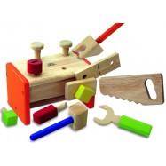 Detská drevená sada náradia pre najmenších