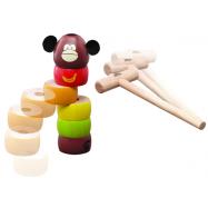 Drevená hra Klikni opicu