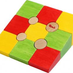 Drevené 3D puzzle tvary