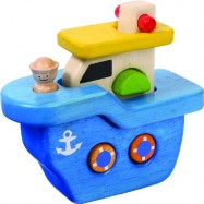 Dřevěná loď skládačka