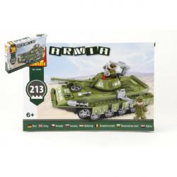 Stavebnice Dromader Vojáci Tank 22502 213 ks