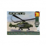 Stavebnice Dromader Vojáci Vrtulník 297 ks