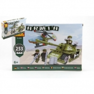 Klocki Dromader Soldiers Tank + Helicopter 22605 253 szt