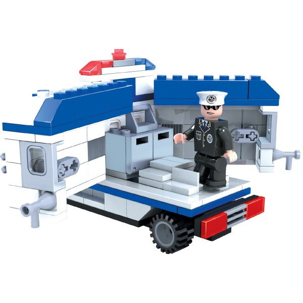 Zestaw Dromader Police Car Van 23405194 szt