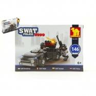 Stavebnice Dromader SWAT Policie Auto 146 ks